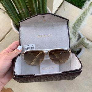 Gucci Aviator Sunglasses *hard to find*